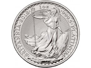 platinova investicni mince britannia 1 oz 2018 100 gbp trojska unce velka britanie standard