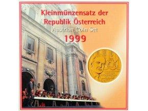 1999 rakousko sada obeznych minci kleinmunzensatz der republik osterreich 1998 austrian coin set unc