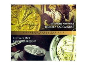 2012 slovensko sada obeznych minci mincovna kremnica historia sucasnost kremnica mint past and present kursset slowakei kremnica coin set unc