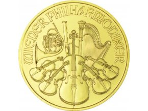 Austria Philharmonic 1 Ounce Gold 2018