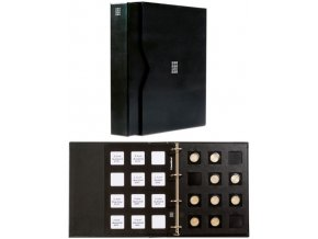 cerne mincovni album matrix poradac album ramecky mince 5 cernych zasuvnych tabulek leuchtturm 346627 lighthouse
