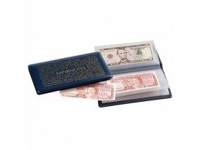 kapesni album na bankovky 20ks do 182x92 mm route banknotes leuchtturm 313845 lighthouse