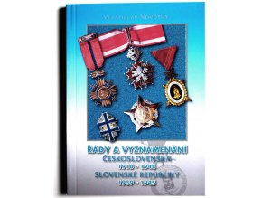 katalog rady a vyznamenani ceskoslovenska 1918 1948 slovenske republiky 1939 1945 novotny 2011 kniha (2)