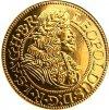 replika zlate mince leopold i 1674 Slezsko au kosicky zlaty poklad