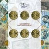 2019 sada 20kc 6ks 20 Kc mince CR Rok meny rok republiky zadni strana