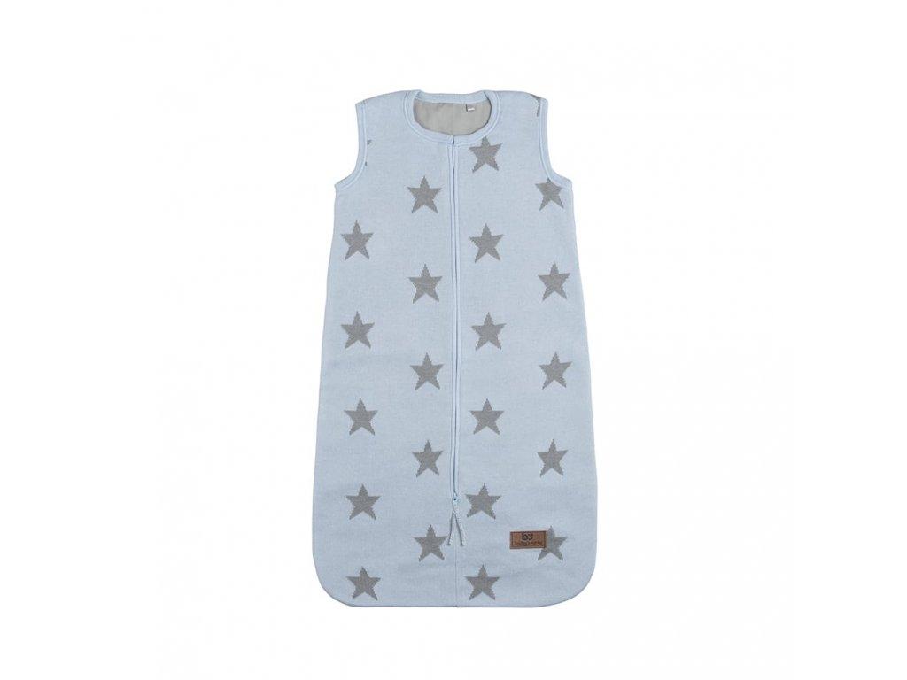 sleeping bag 90 cm star baby blue grey 3068001 en G