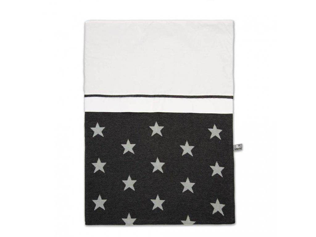 duvet cover 100x135 cm star anthracite grey 471001 en G