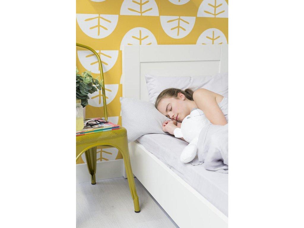 duvet cover 100x135 soft cotton silver grey 10554004 en G
