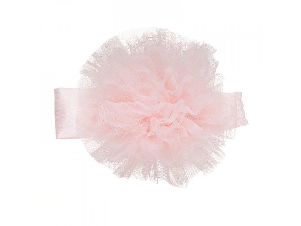 fascia con tulle rosa tg1