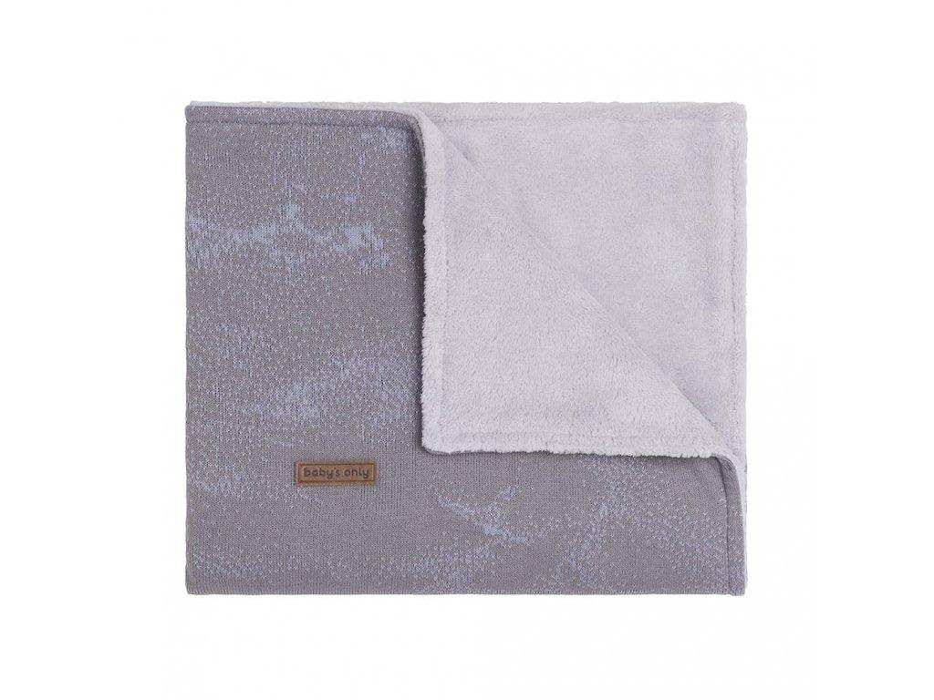 baby crib blanket teddy marble cool grey lilac 12345001 en G