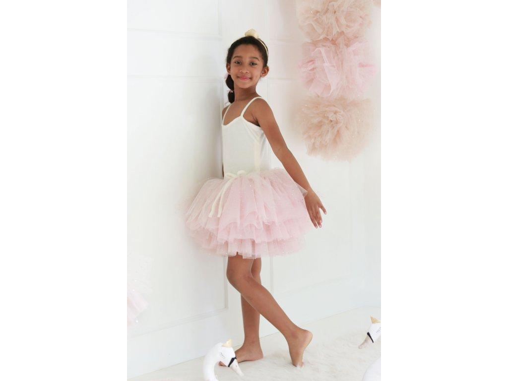 Spinkie Tutu Swan šaty, light pink