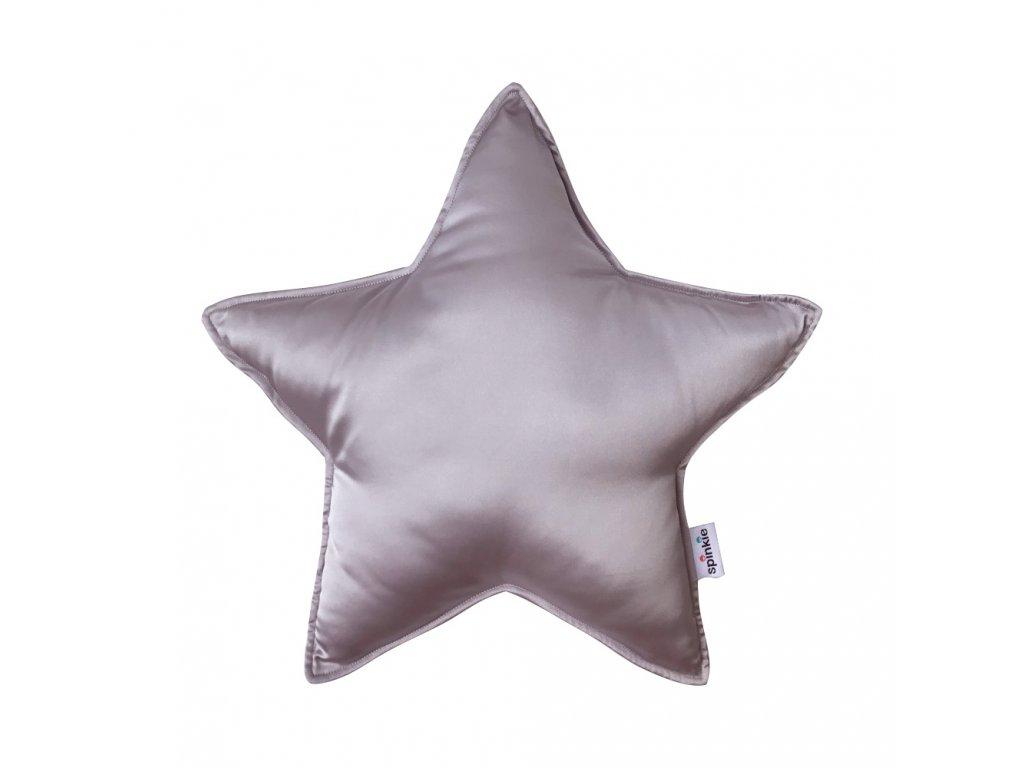 Hodvábny vankúš hviezda Violet