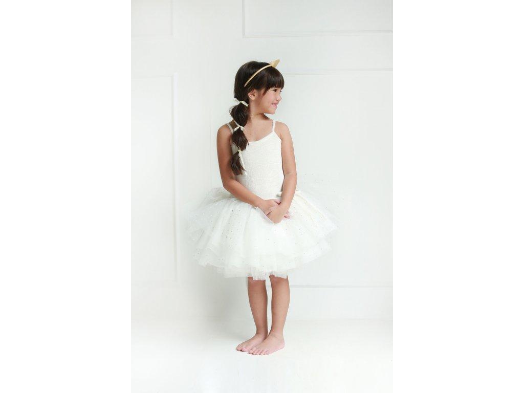 Spinkie Tutu Swan šaty, white