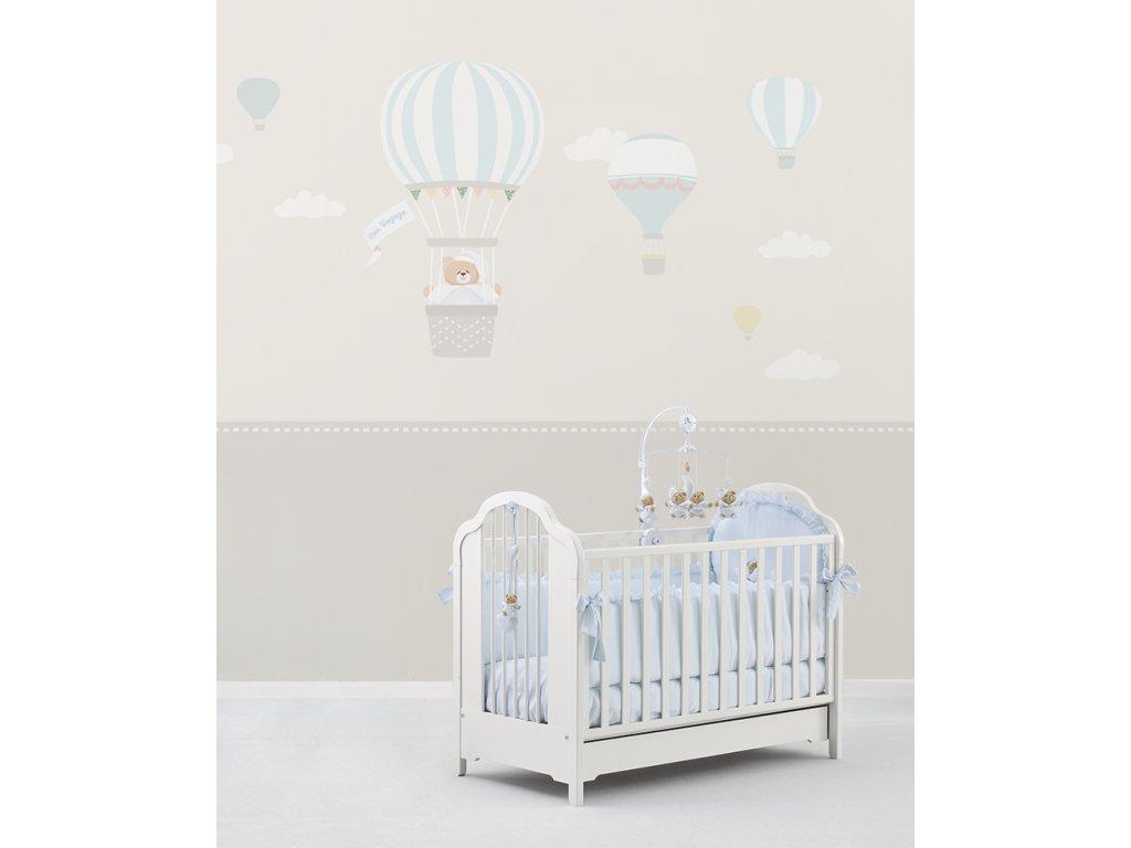 Il viaggio di Tato centro Carta da parati Baby Interior Design Wallpaper® per Nanán® 01 (1)