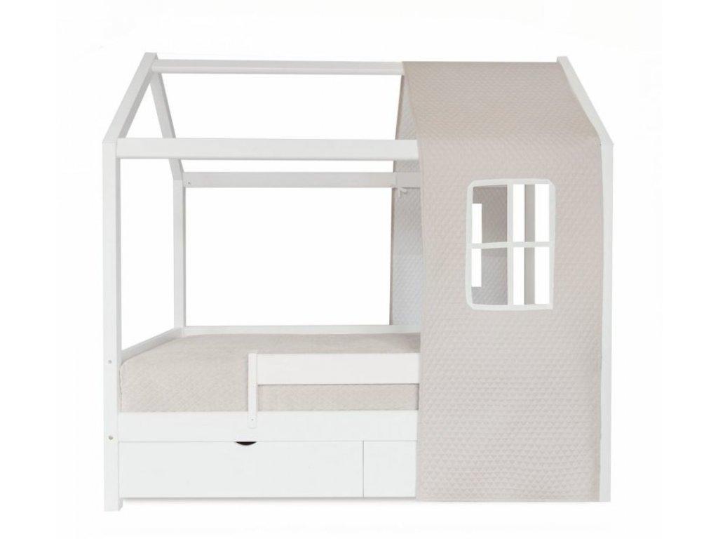Caramella detská posteľ Golden Sand v tvare domčeka