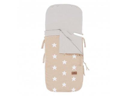 summer footmuff car seat 0 star beige white 4124001 en G