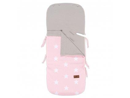 summer footmuff car seat 0 star baby pink white 6307001 en G