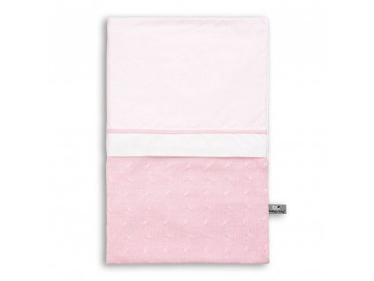 duvet cover 100x135 cm cable baby pink 17001 en G