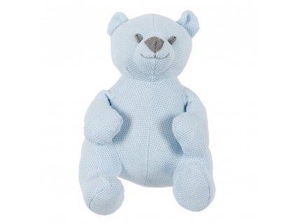 stuffed bear 35 cm classic powder blue 320001 en G