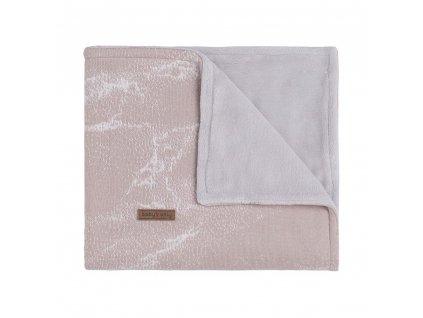 baby crib blanket teddy marble old pink classic pink 12339001 en G