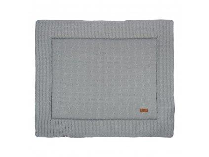 playpen mat 75x95 cable grey 632001 en G