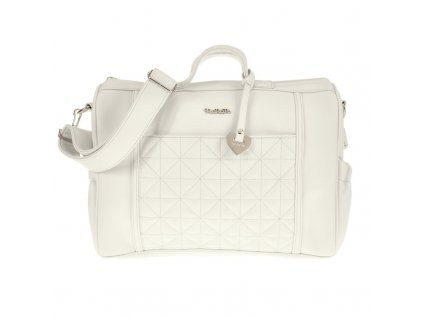 borsa da passeggio bianca