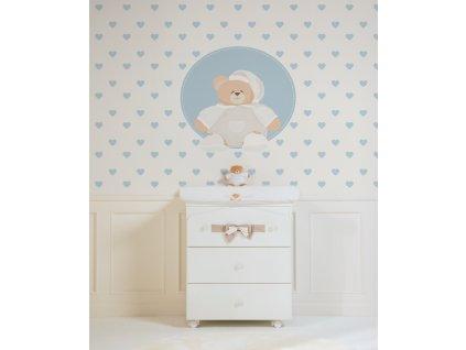 La finestra di Tato Carta da parati Baby Interior Design Wallpaper® per Nanán® 01 (1)