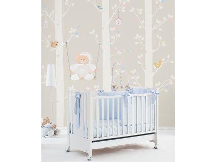 L altalena di Tato Carta da parati Baby Interior Design Wallpaper® per Nanán® 02