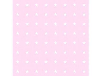 Tapeta Stars pink