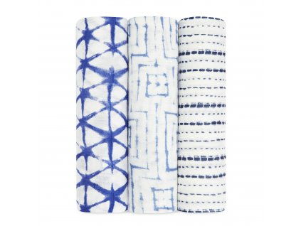 9213 0 silky soft swaddles indigo rolled product