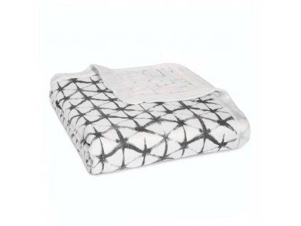 aden anais baby silky soft dream blanket grey pebble shibori 9319 0