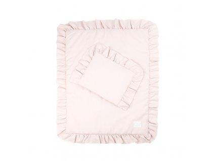 Newborn set 50x65 powder pink