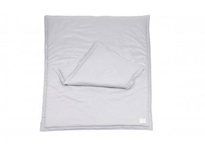 Posteľná bielizeň NEWBORN Simply Glamour 50x65cm - šedá