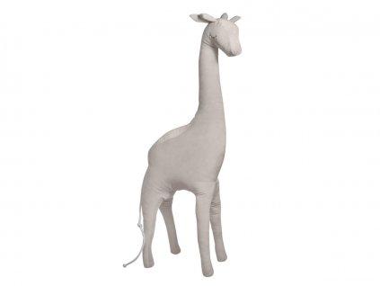 Decorative beige giraffe 1