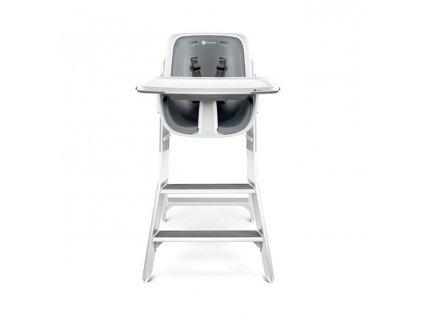 4moms krzeslo high chair white grey