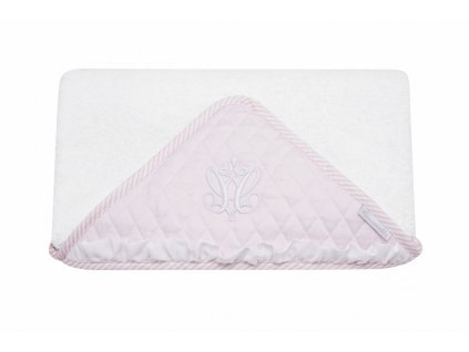 Towel Baby Pink with emblem 1