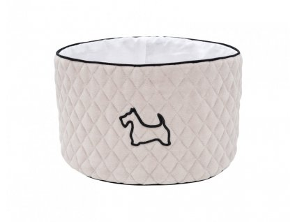 Okrúhly košík Doggy Beige 1