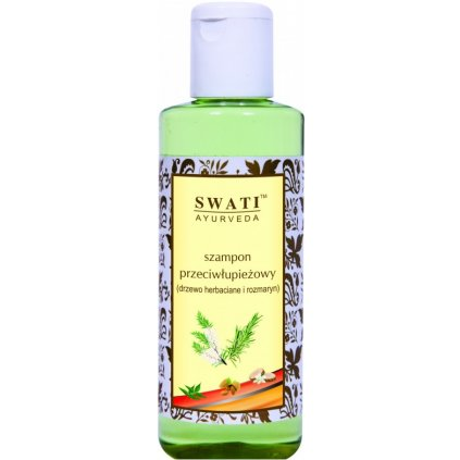 Šampon Swati 210 ml tea tree a rozmarýn