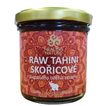 DS Tahini RAW skořicové 165ml HN