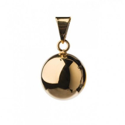 Mexická bola 20mm Plain gold plated VF 300