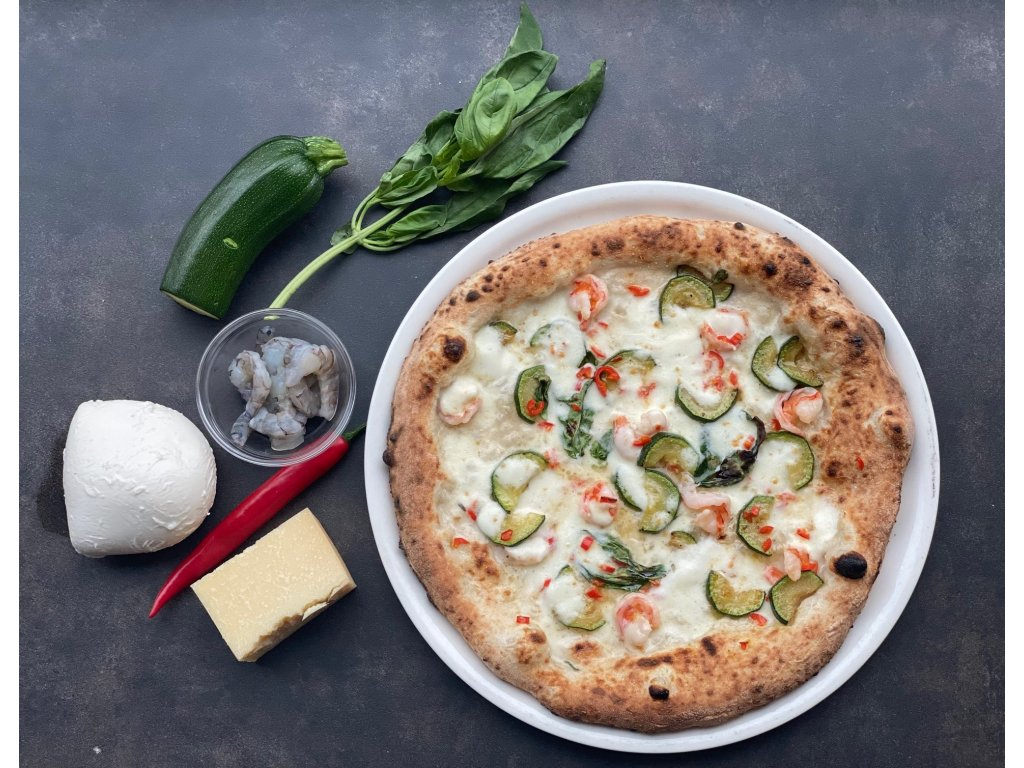 Pizza krevety new