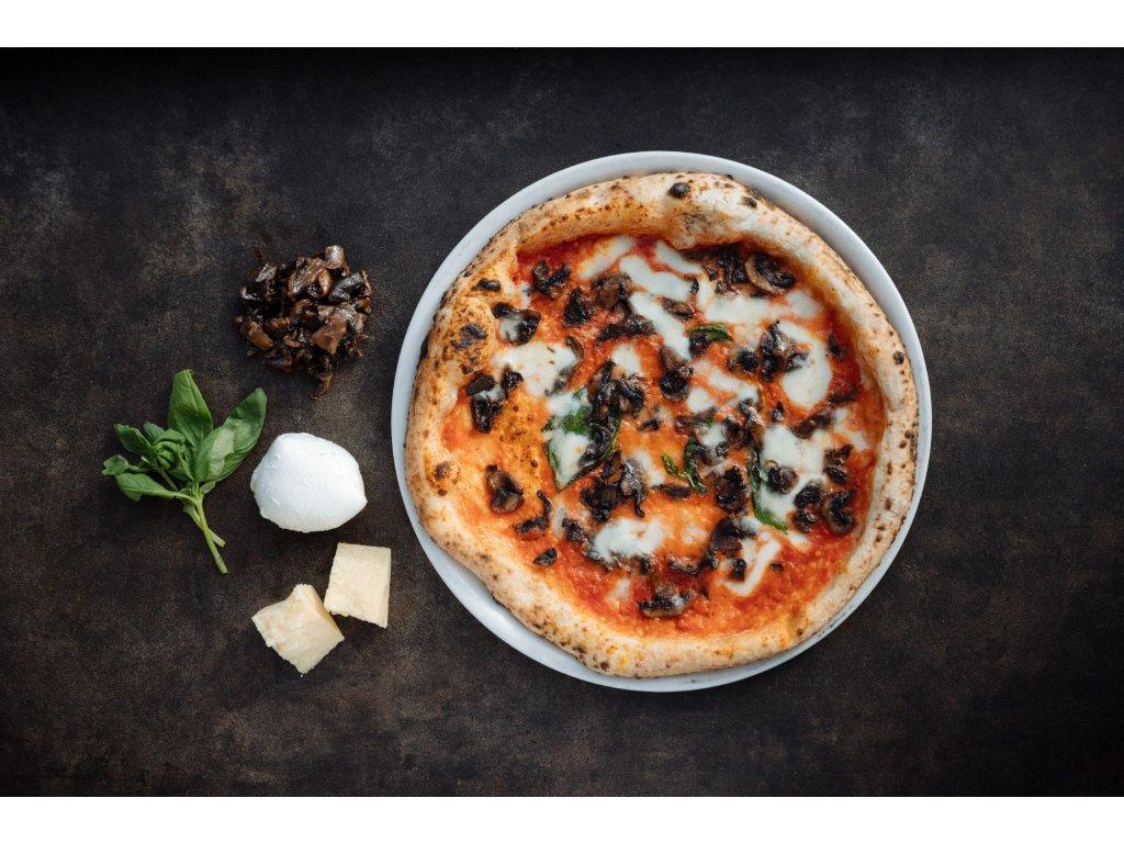 Pizza žampióny
