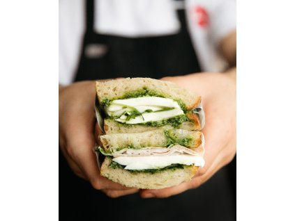 Focacia sendvič