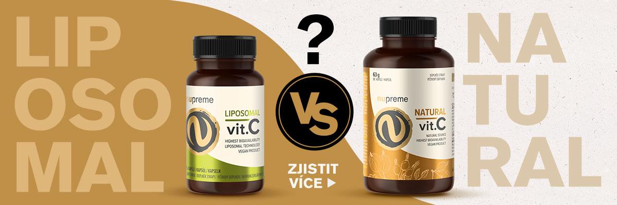 Syntetický, liposomální nebo přírodní vitamín C?