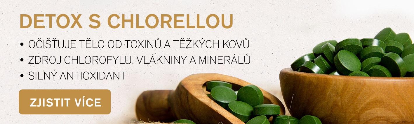 Chlorella pro přírodní detox