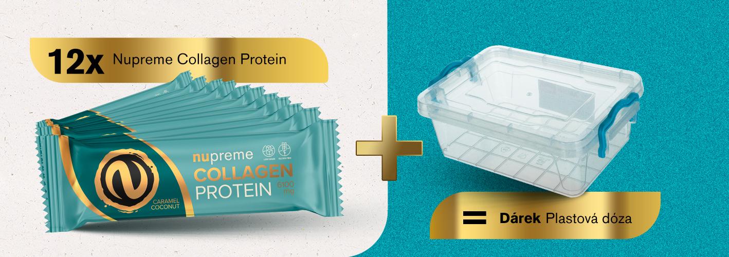 Proteinové tyčinky + dóza zdarma