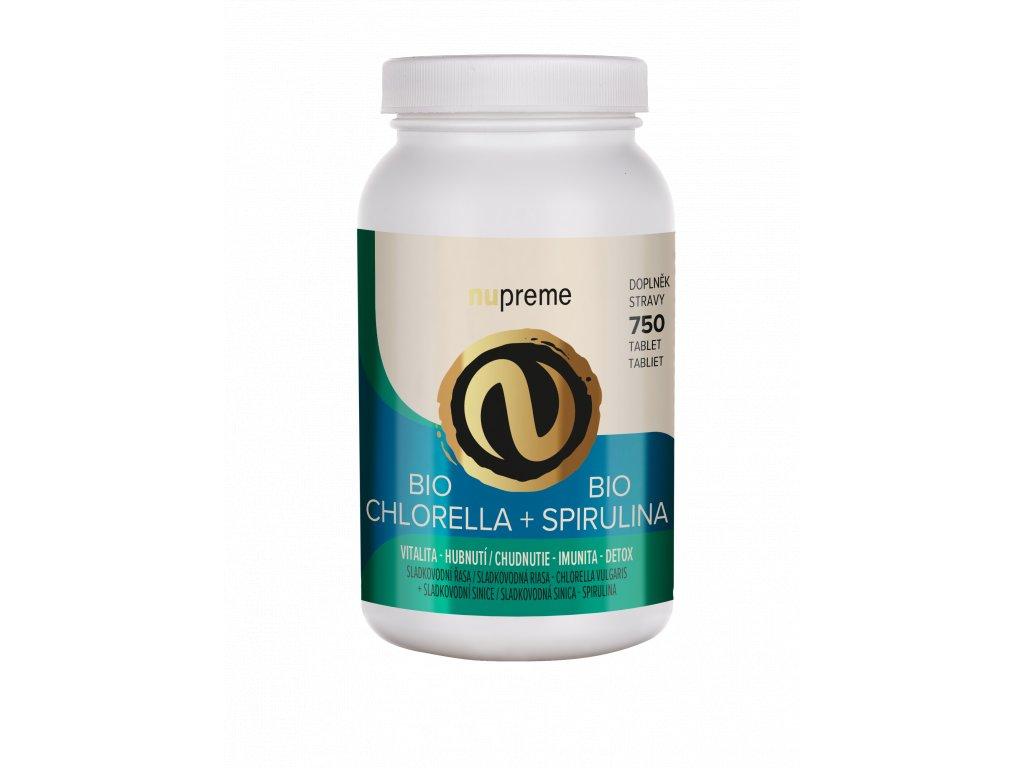 nupreme chlorella spirulina render