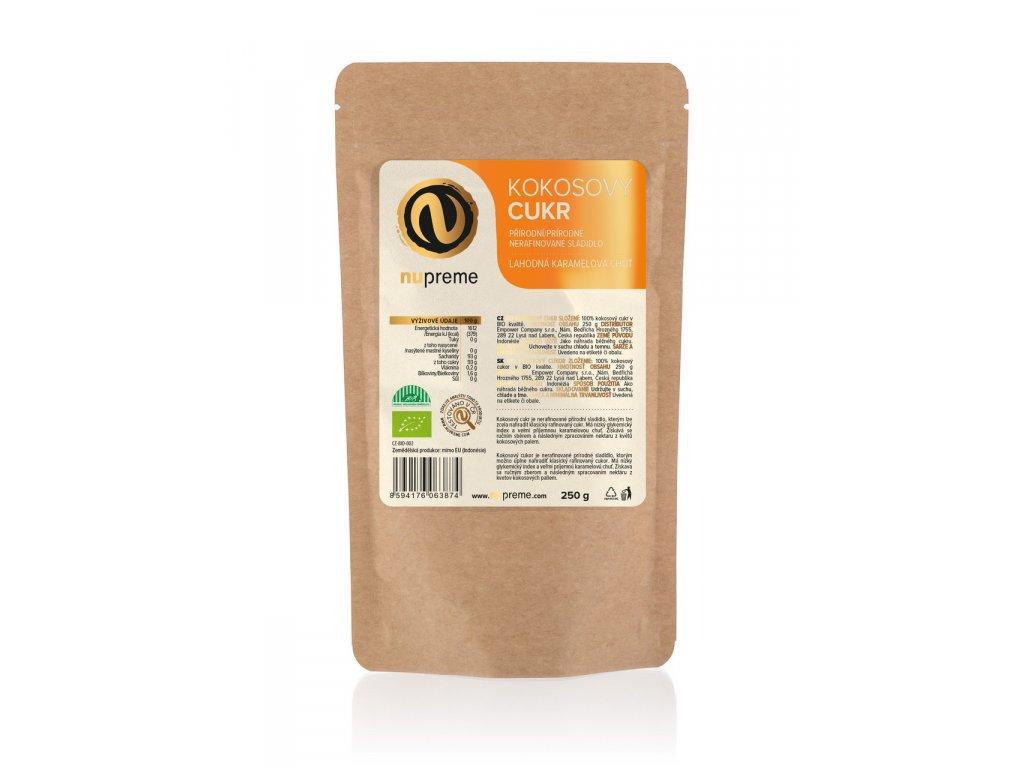 kokosový cukr nupreme bali karamelová chuť