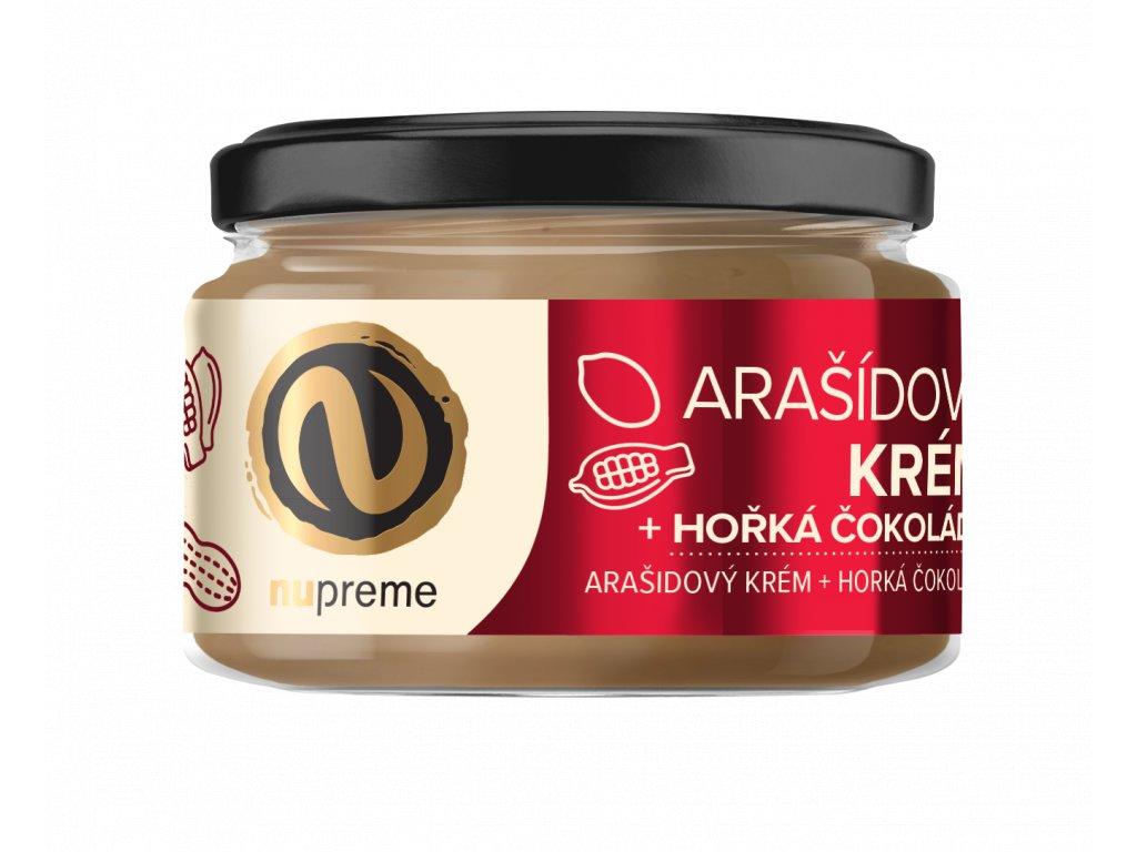 nupreme arasidove maslo hořká čokoláda