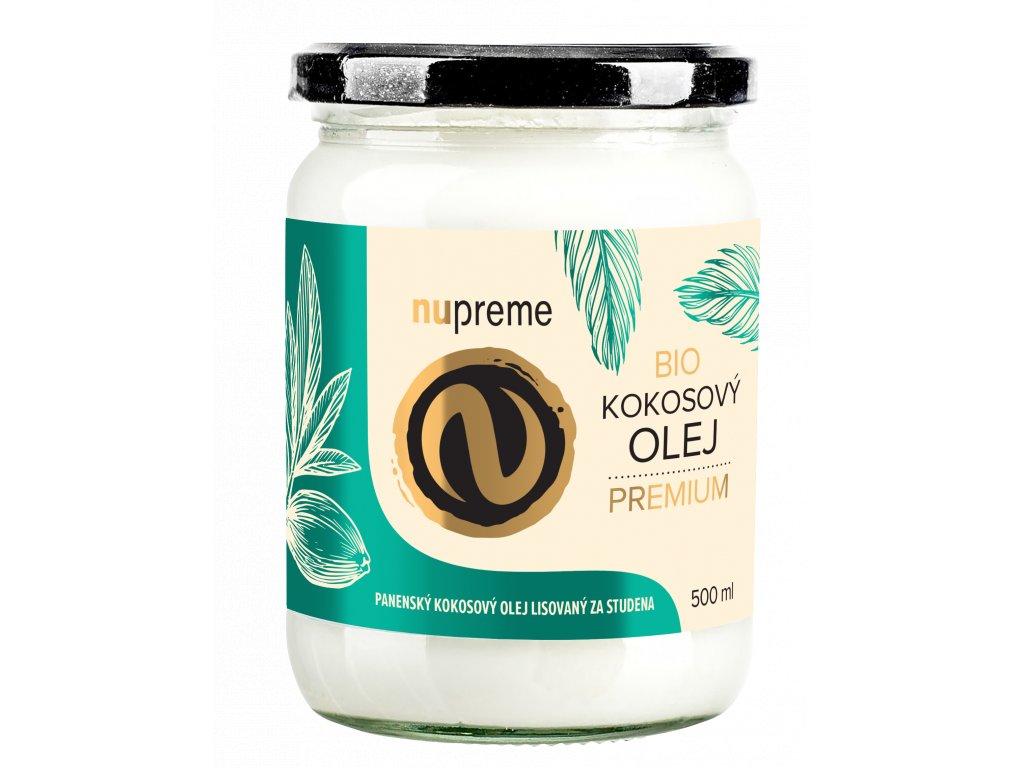 kokosový olej nupreme bio raw vegan
